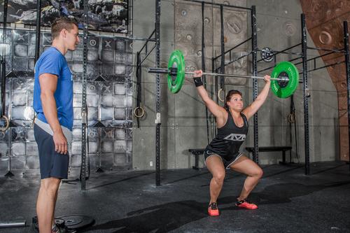 CrossFit gewichtheffen