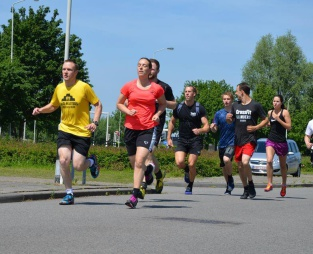Obstacle run - CrossFit