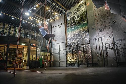 CrossFit Rope Climb